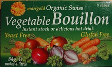 Marigold celery free vegetable stock cubes