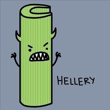 Celery Hellery from People for the Awareness of Celery Allergy (PACA) Facebook page