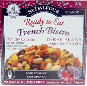 St Dalfour three bean and sweetcorn salad