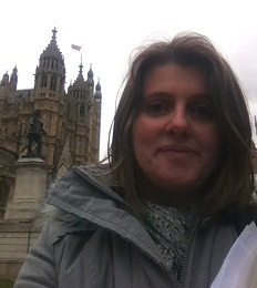 Me outside The Houses of Parliament