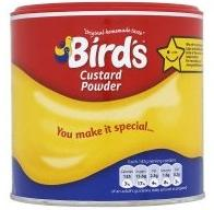 Bird's Custard is egg free