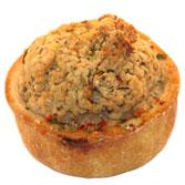 Foodamentalists Pork, chicken and stuffing pie