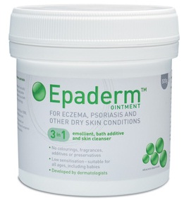 Epaderm ointment for eczema, psorasis and dry skin conditions