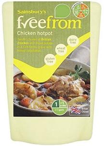 Sainsbury's freefrom chicken hotpot