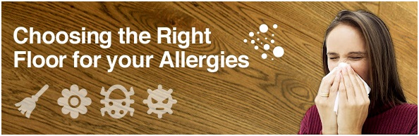 Choose the right floor for your allergies