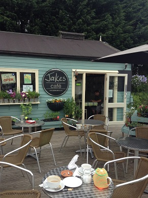 Jake's gluten free cafe near Luton
