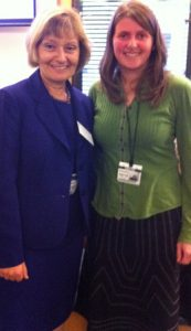 Ruth Holroyd of What Allergy with Lynne Regent, CEO of The Anaphylaxis Campaign