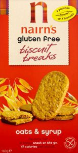 Nairns Oats and syrup gluten free biscuits