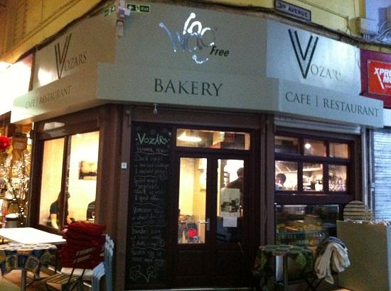 Vozars gluten free cafe, Brixton Village
