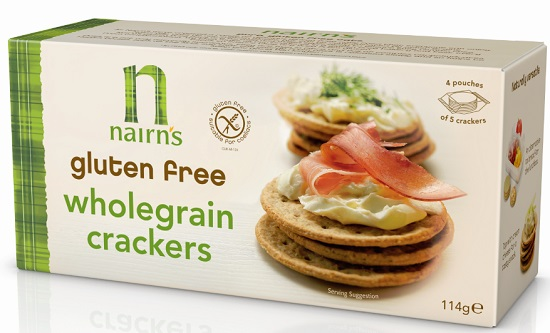 Nairns Wholegrain crackers - crunchy bite, very tasty