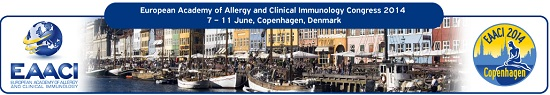 The European Academy of Allergy and Clinical Immunology 2014 (EAACI)