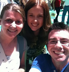 Me, Liz Allan and @DavidJ_GF