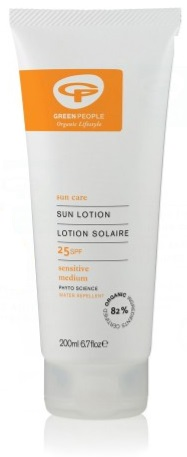 GreenPeople sensitive skin sunscreen