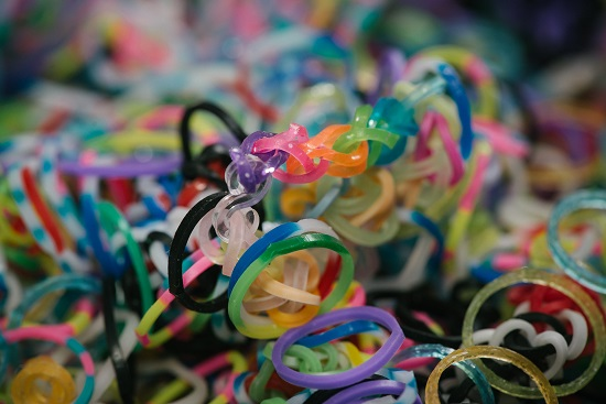 Beward of loom bands if you or your child has a latex rubber allergy