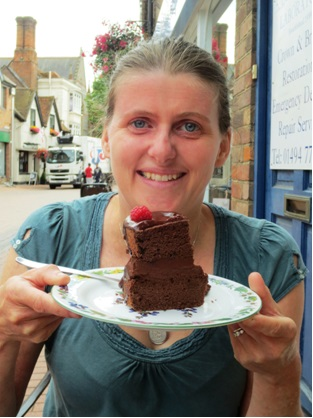 Wheat, gluten, soya, dairy and nut free cake! at the perfect retreat in Chesham, Bucks