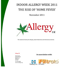 Rise in Home Fever, Allergy UK Report
