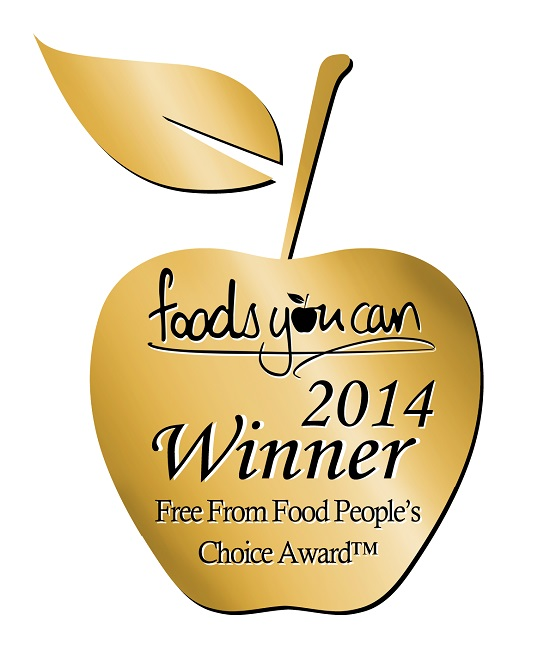 What allergy wins Best FreeFrom Blogger People's Choice Foods You Can Award 2014
