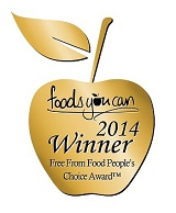 What Allergy wins Foods You Can People's Choice Free-From Awards 2014