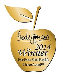 Best FreeFrom Blogger 2014 - Foods You Can People's Choice Award