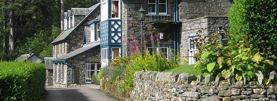 Ravenstone Manor in the Lake District - totally gluten free