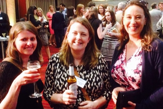 Me again at The Allergy Awards with some of my ladies Gluten Free Traveller and Grace Cheetham