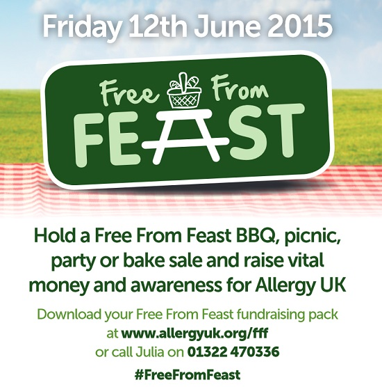 Have your own Free From Feast on 12th June 2015