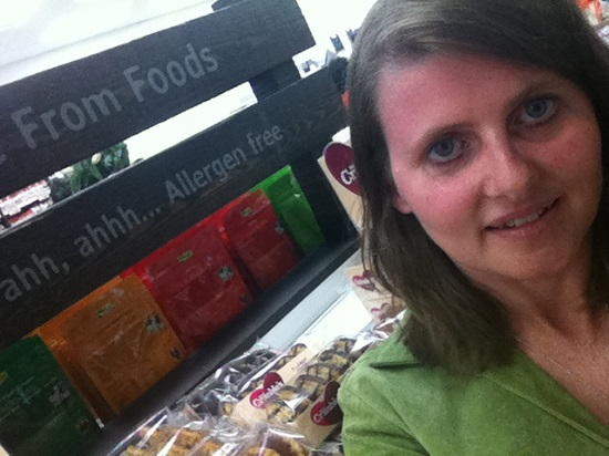 Me at the Holland & Barrett More store Chester VIP launch party