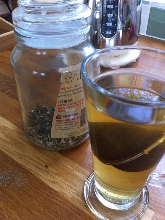 Teami Skinny tea - refreshing, beautiful and tasty #herbaltea #teami