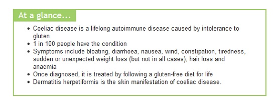 Coeliac disease facts at a glance