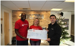 Anytime Fitness raising money for AllergyUK