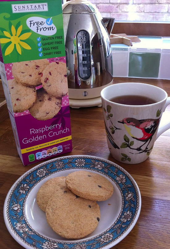SunStart #glutenfree #wheatfree #dairyfree #eggfree #soyafree biscuits in Holland & Barrett