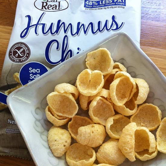 EatReal Hummus crisps - Crunchy, more-ish and totally free from dairy, wheat, gluten and soya