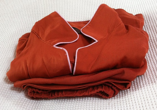Copper Clothing ladies pyjamas - great for eczema skin