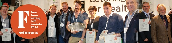 FreeFrom Eating Out Awards 2014 winners