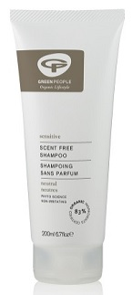 Green People sensitive skin shampoo