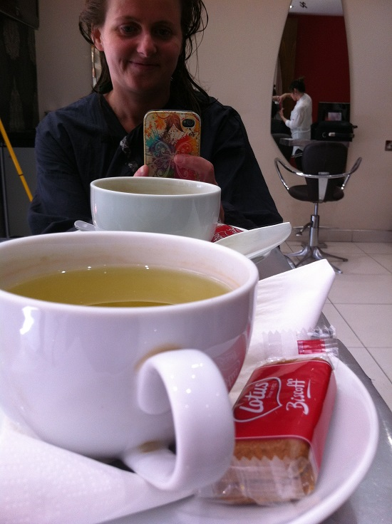 FreeFrom biscuits at the hairdressers?