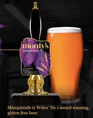 Montys gluten free beer
