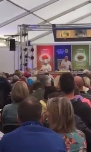 Celebrity Chef Greg Wallace telling us what he thinks about people with allergies