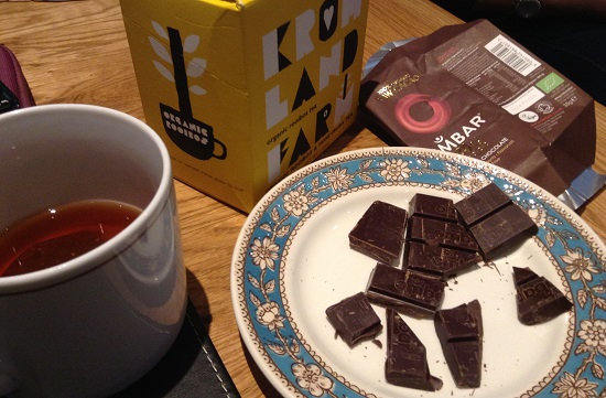 Ombar dairy, gluten, wheat, soya and nut free chocolate