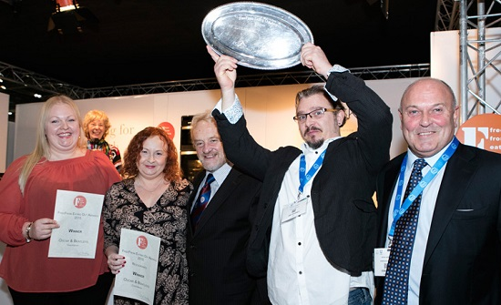 Oscar & Bentleys of Canterbury win the FreeFrom Eating out Awards 2015