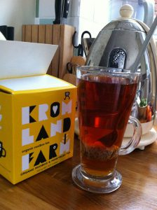 Delicious, delicate KromLand Rooibosh and Honeybush #herbaltea