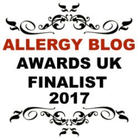 Allergy Blog Awards UK 2017 - Most Innovative Blog