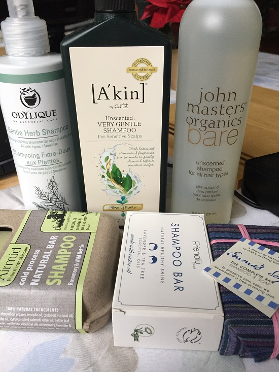 Lots of new natural, organic and freefrom allergen shampoos to try