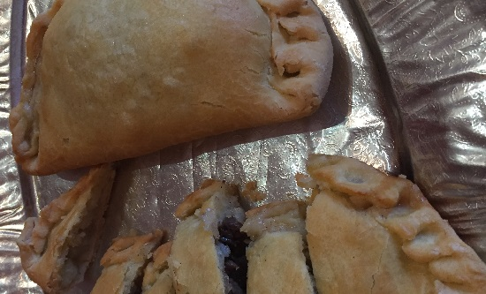 West Cornwall Pasty company Gluten and dairy free pasty