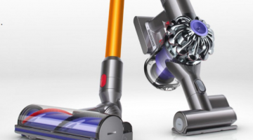 Testing the new Dyson V8 with a dust allergy