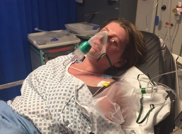 In intensive care after allergic reaction to undeclared dairy