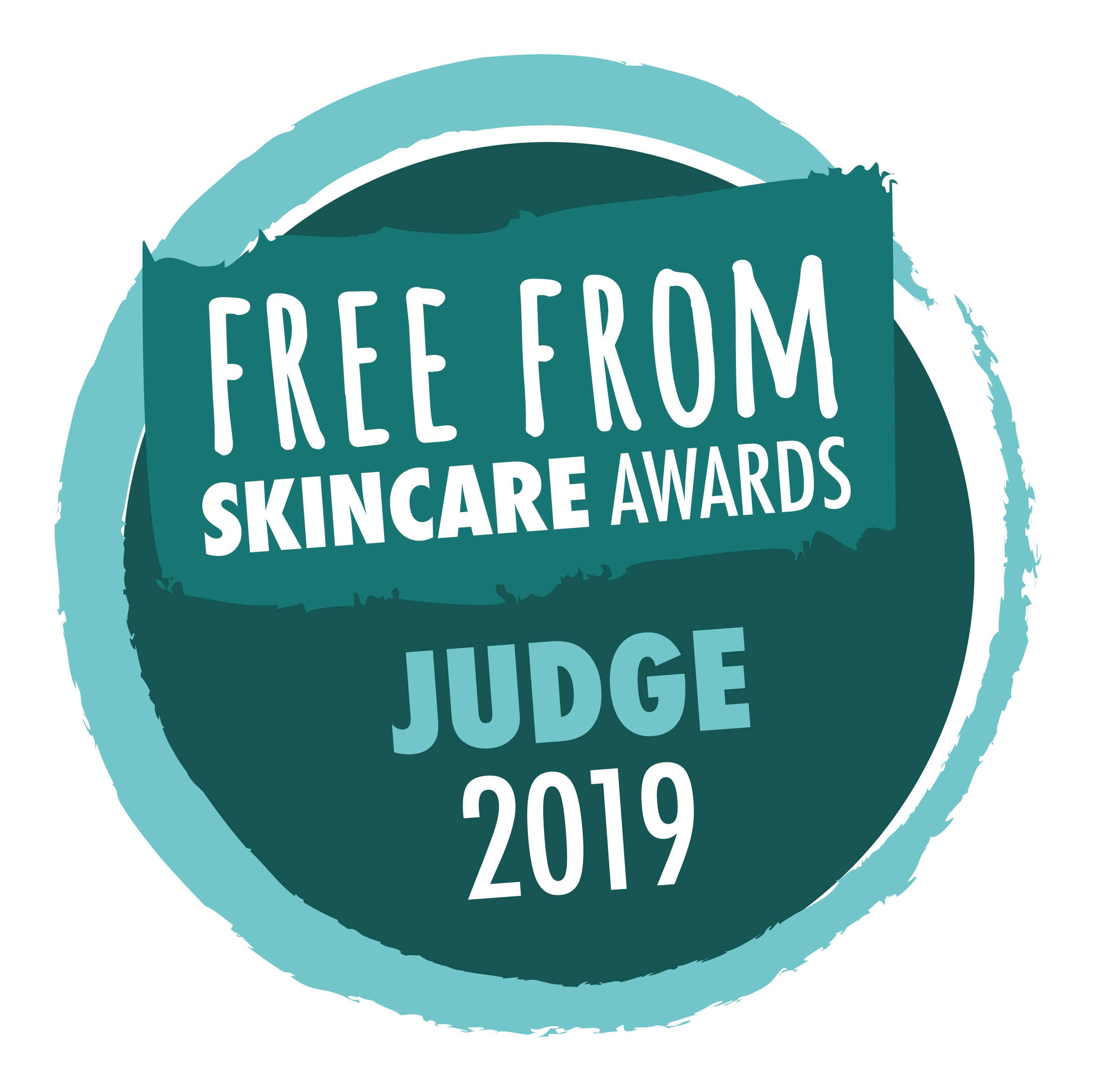FreeFrom Skincare Awards 2019 judge