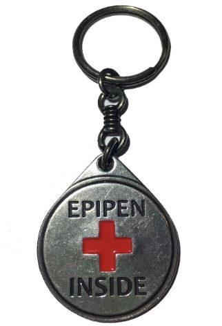 EpiPen Iinside medical keyring from Amazon