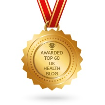 20th in the Top 60 UK Health Blogs