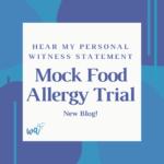 Mock Food Allergy Trial
